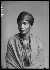 "Eleanor Xiniwe, ""The African Choir."" London Stereoscopic Company, 1891. Courtesy of ©Hulton Archive/Getty Images."