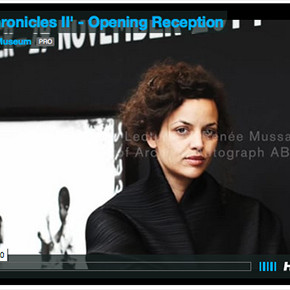 'BLACK CHRONICLES II' Opening Reception Vimeo