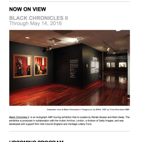 May 2016 Newsletter