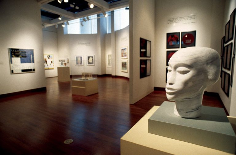 Bearing Witness: Contemporary Works by African American Women Artists. Installation view at the Spelman College Museum Fine Art, 1996