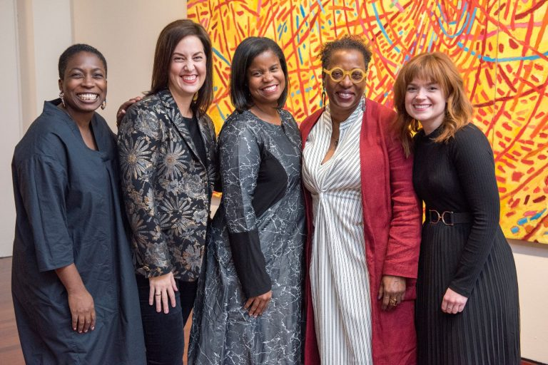Lauren Haynes, Director of Artist Initiatives and Curator, Contemporary Artat Crystal Bridges and the MomentaryMelissa Messina, Independent Curator  and Curator of the Mildred Thompson EstateAndrea Barnwell Brownlee, Ph.D., Director, Spelman College Museum of Fine Art Valerie Cassel Oliver,  Sydney and Frances Lewis Family Curator of Modern and Contemporary Art, Virginia Museum of Fine ArtsHallie Ringle, Hugh Kaul Curator for Contemporary Art, Birmingham Museum of Art