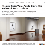 Frieze: Theaster Gates Wants You to Browse This Archive of Black Excellence