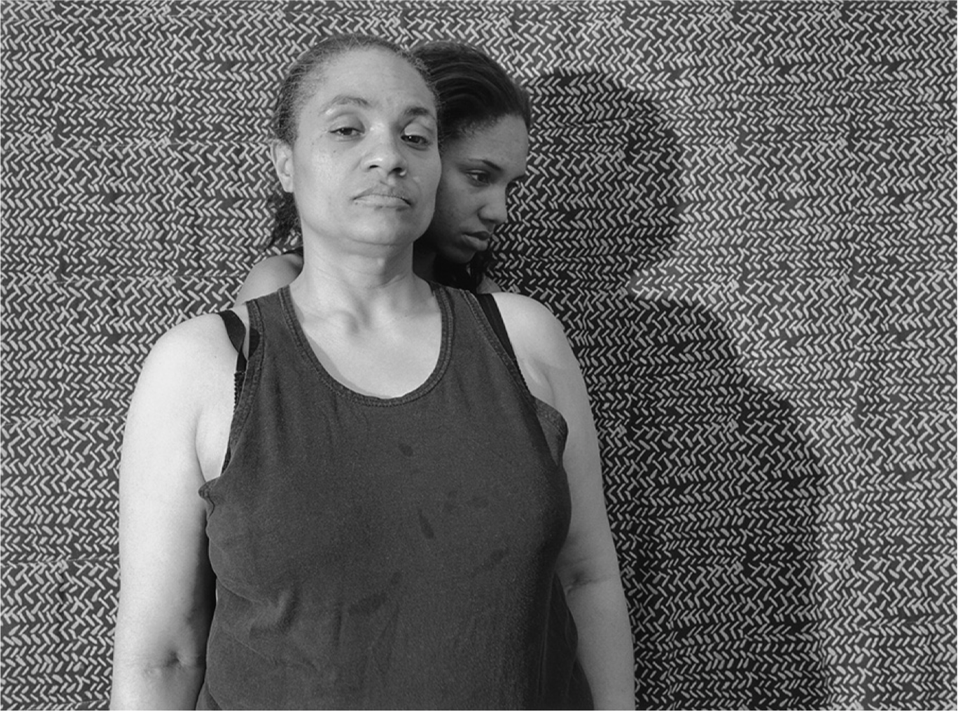 LaToya Ruby Frazier (American, born 1982), Mom Portrait Series (Shadow), 2008;silver gelatin print, 16 x 20 inches Purchased with support from Brooke Jackson Edmonds in support of the 15 x 15 Acquisitions Initiative, 2011.6-8.