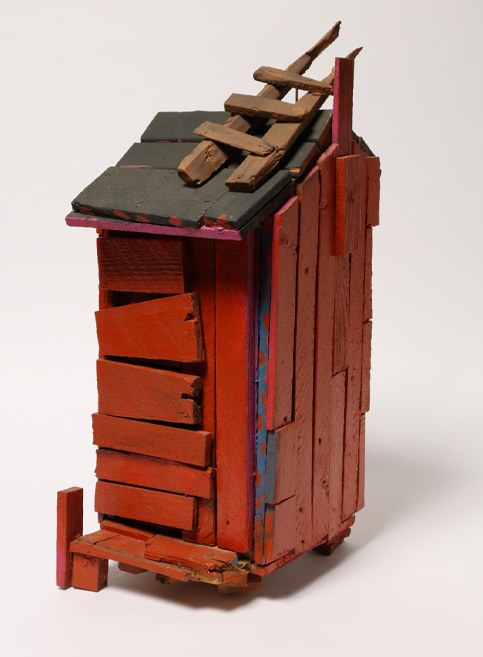 Beverly Buchanan (American, 1940 – 2015), Untitled, 1995; wood and mixed media, 22.5 x 9.5 x 11 inches. GiftofRobert and Lucinda Bunnen, 2012.13.